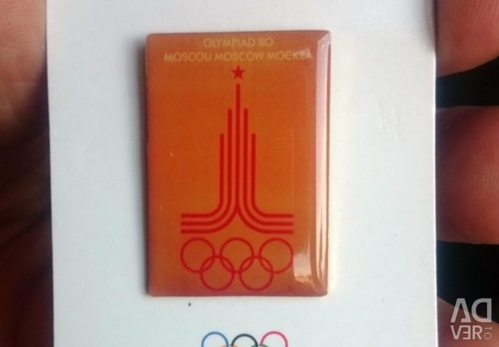 Badges from the Olympic collection