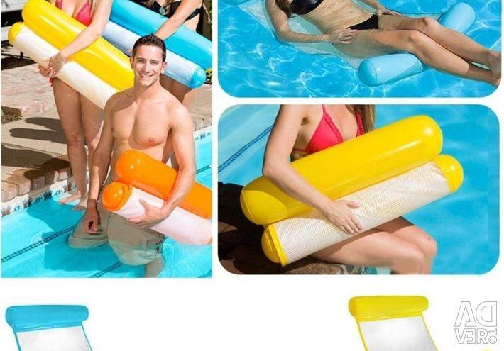 Φουσκωτή ξαπλώστρα για κολύμβηση Floating Bed, 130x73