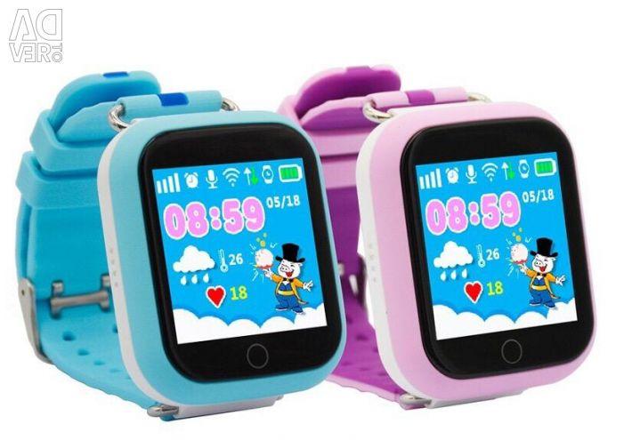 Smart Baby Watch умные часы Q100 GPS