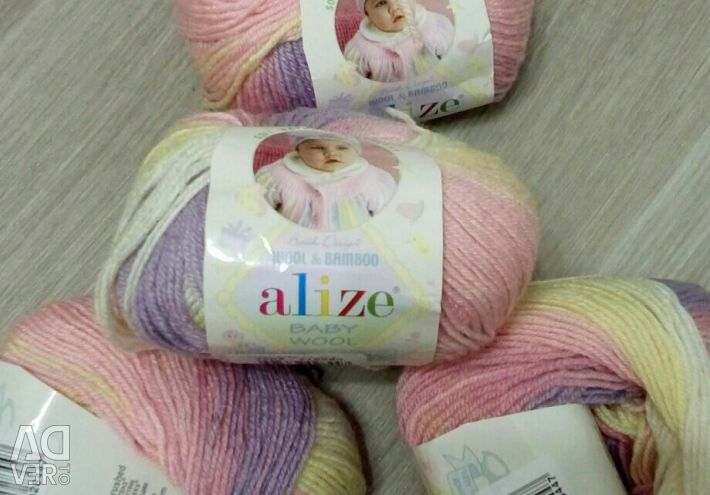 Пряжа Ализе Baby Wool