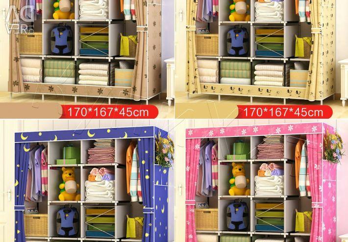 ? Шкаф Складной Каркасный 170*105*45 см Новый