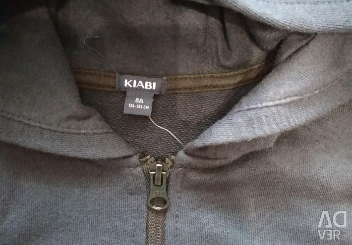 New KIABI sweatshirt for height 126-131