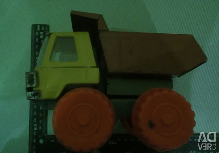 USSR toy truck made of tin