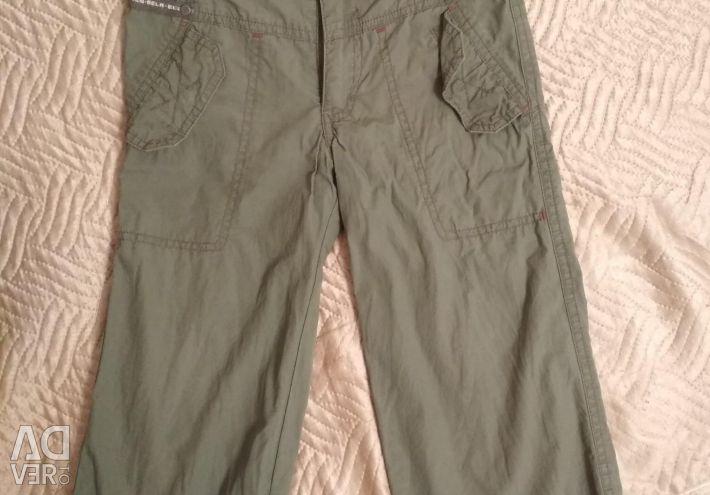 Bir oğlan için pantolon. Erkek pantolonu