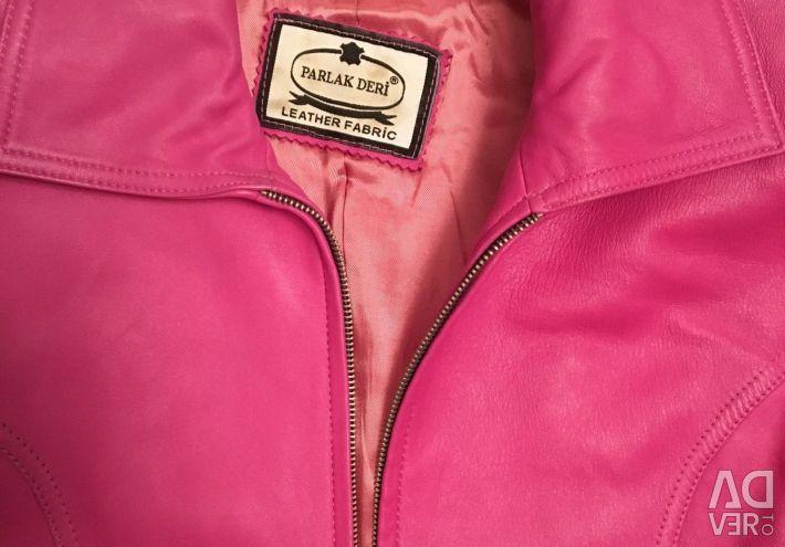 Нова куртка нат шкіра разм М