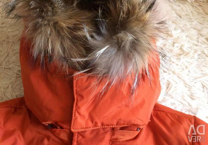 Тeплая куртка
