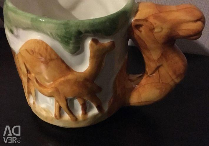 Gift wrapped mug