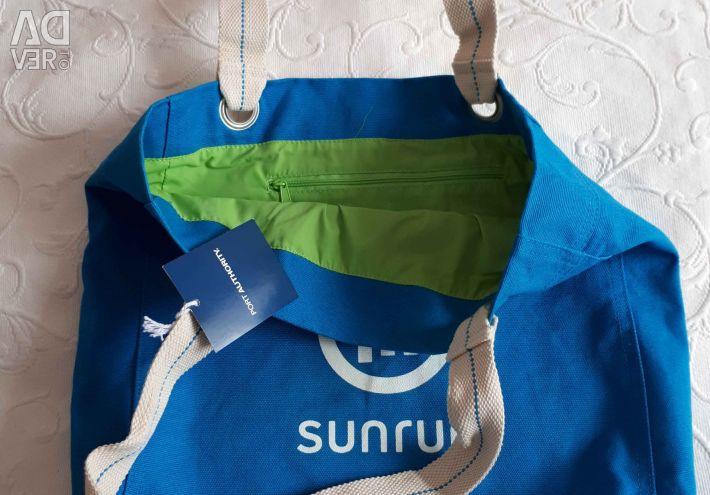 Νέα τσάντα παραλία