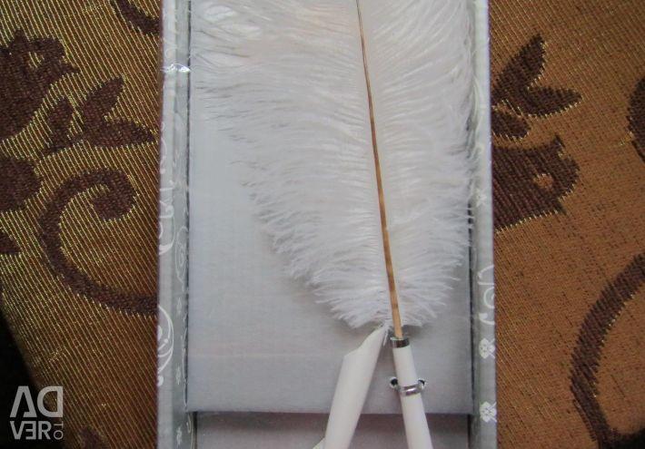 Κερί Γάμος κερί Feather οικογενειακή εστία