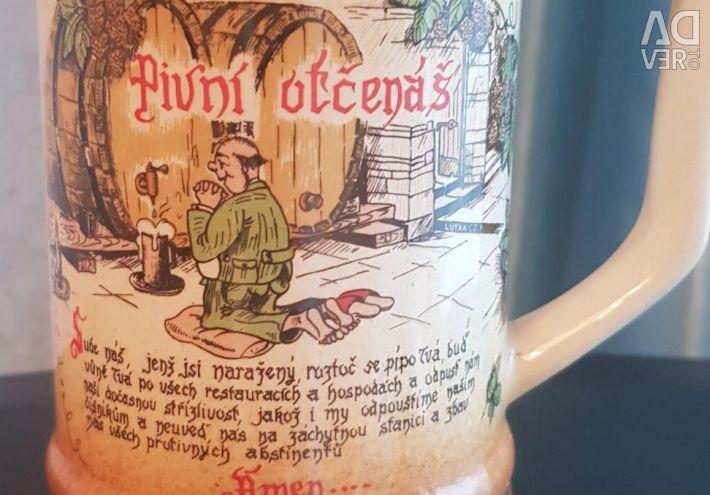 BEER MUG FROM CZECHOSLOVAKIA