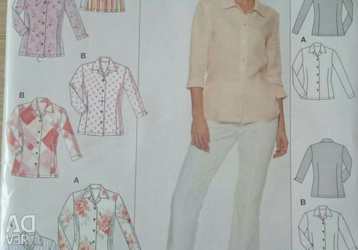 Modelul BURDA, cămașă