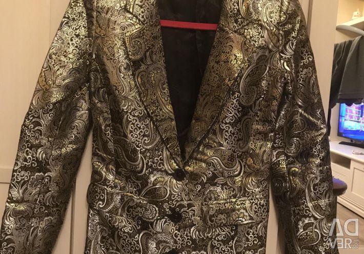 Jacheta din brocart. nou