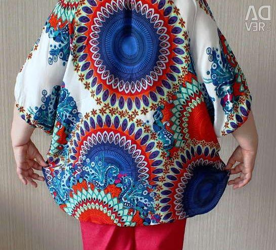 Μεγάλο βισκόζικο πουκάμισο με πούλιες