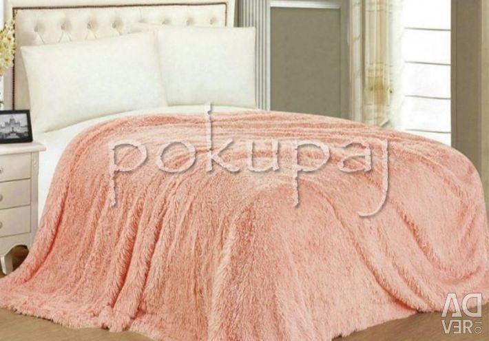 Plaid peach 220 * 240