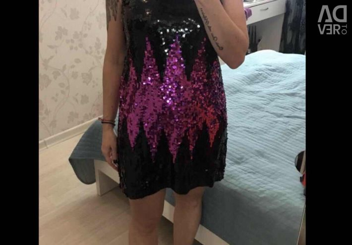 New Dress with sequins 44-46