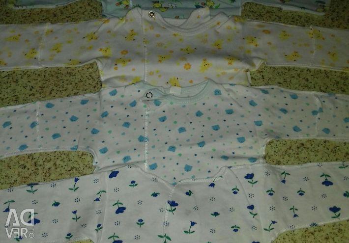 Bluze noi pentru un nou-născut