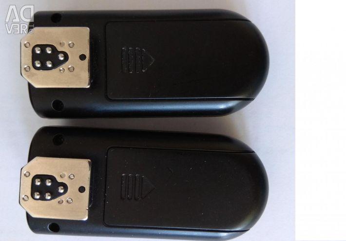 Συσκευή συγχρονισμού ραδιοφώνου Yongnuo RF-603 II C3 για Canon