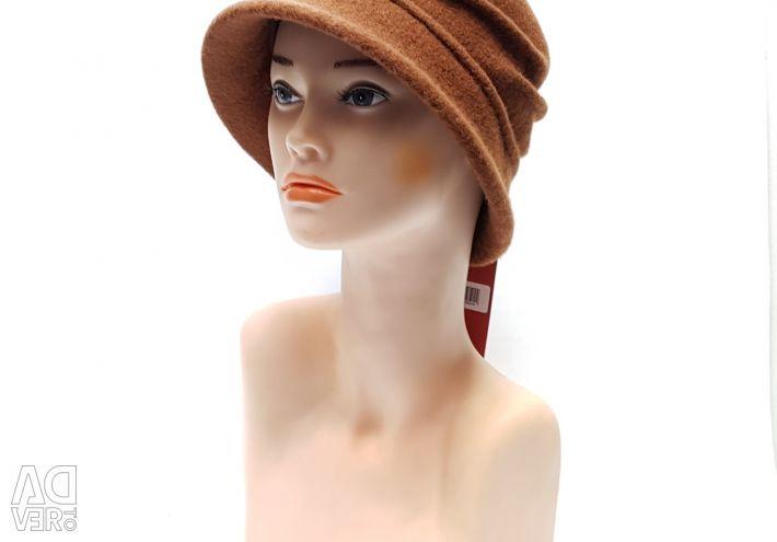 Tonak Women's Woolen Hat (Brown)