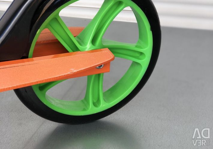 Metal scooters.