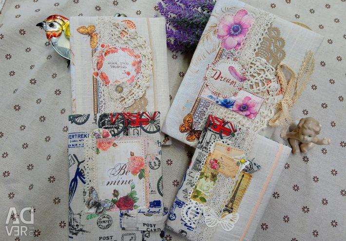 Sale. Handmade notepad