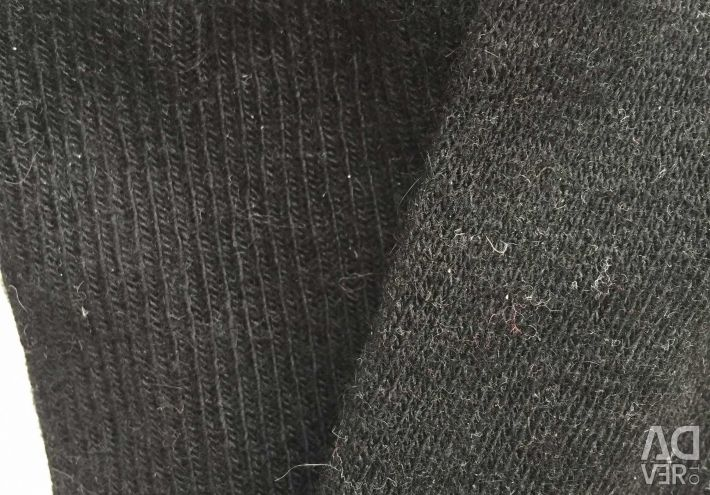 Ciorapi noi Dover lână neagră dimensiunea 46 M Unika