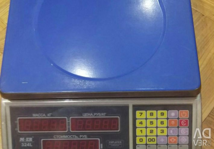 Scales, commercial, electronic Mercury