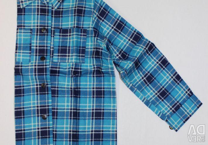 Çocuğa gömlek pazen, YENİ