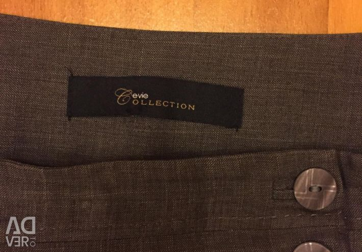 Classic gray trousers
