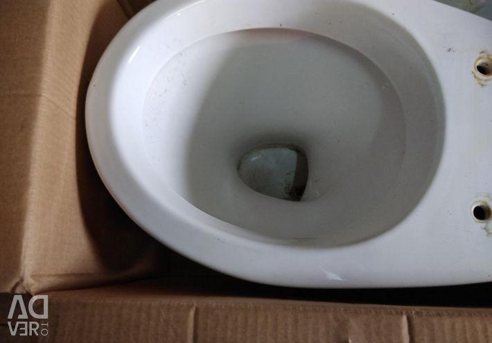 Toilet bowl used