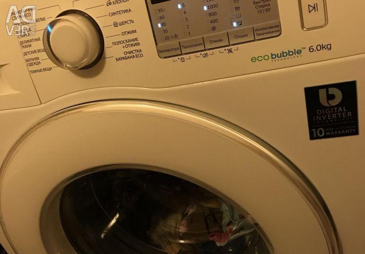 SAMSUNG washing machine for 6 kg, 60 * 45 * 85