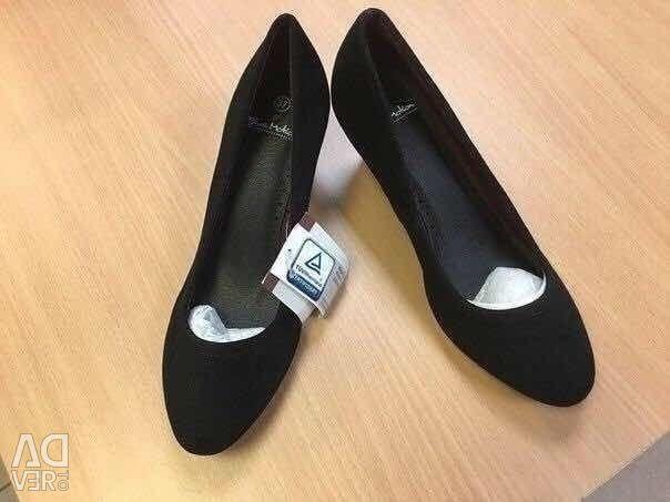Pantofi minunați, noi, Germania, ACTION, de mai multe dimensiuni, pe un picior îngust