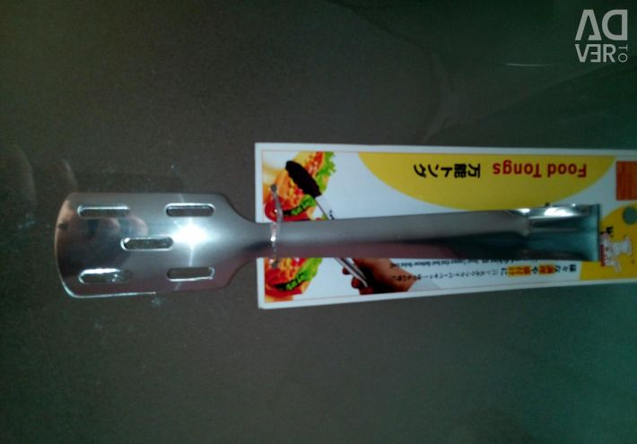 New kitchen tongs for cakes, pastries, bread
