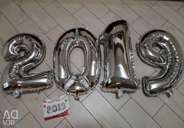 Spheres foil 2019