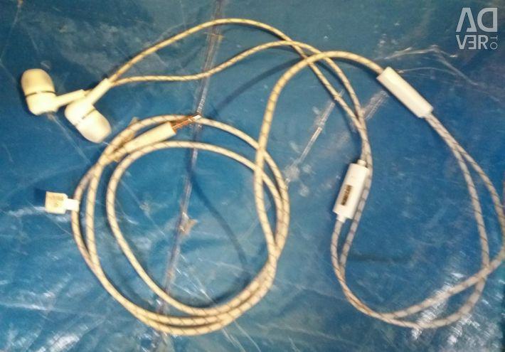 Навушники з мікрофоном Е100s