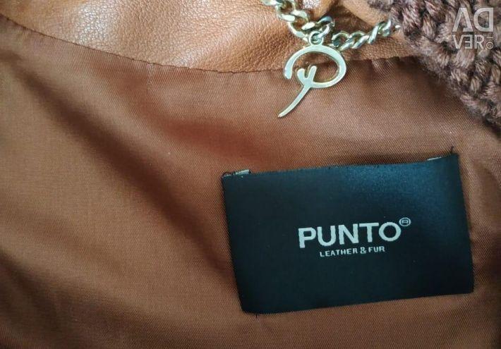 Кожаная куртка PUNTO
