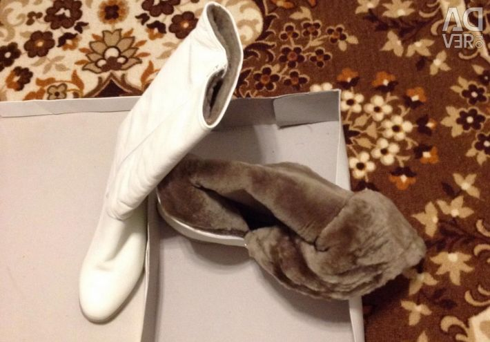 New winter boots r 38 natur leather.