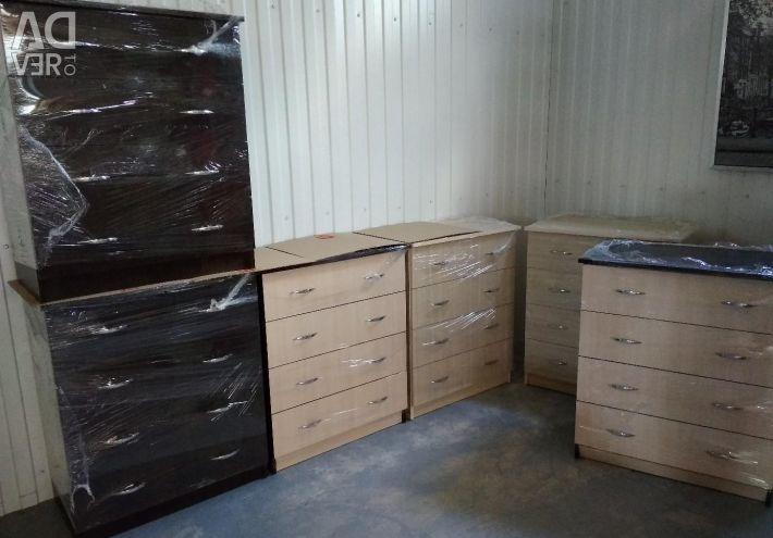 Комоди нові 4 ящики