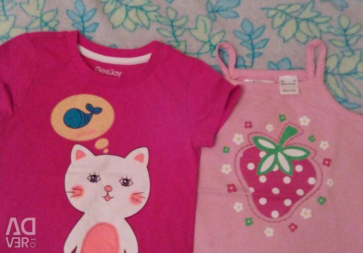 Μπλουζάκια. 2-4 χρόνια