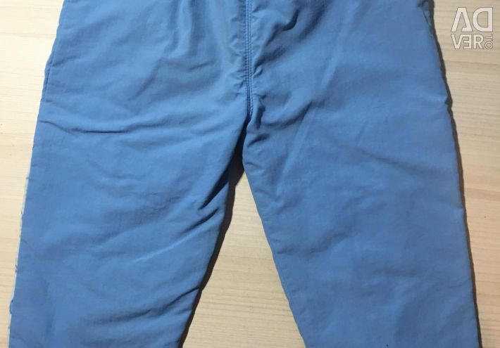 Trousers for damp weather