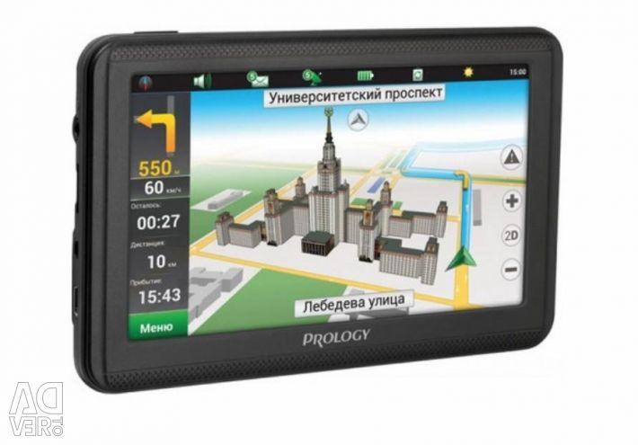 Gps prology imap-5200 4gb navigator, navitel