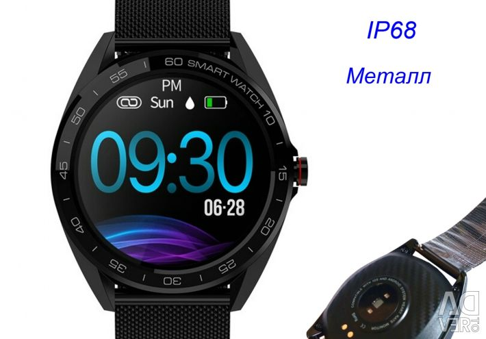 Watch Ceas inteligent Senbono K7 IP68 metal nou