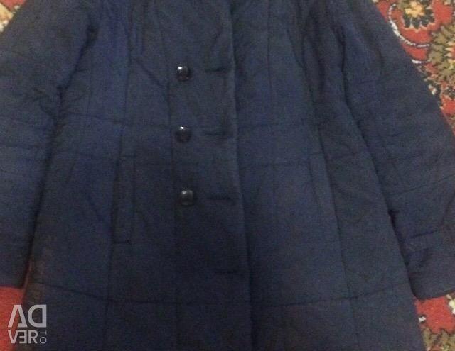 Draped coat and jacket