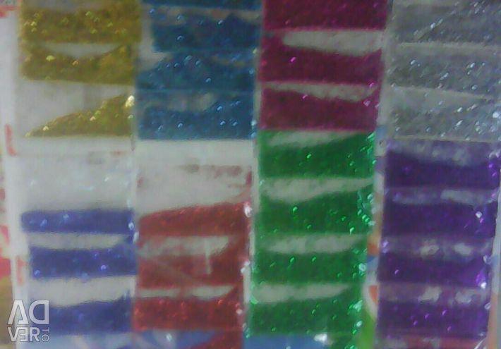 Decorative sequins, glitter