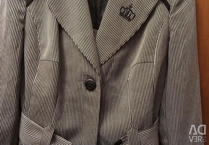Half-wool suit (bargaining)