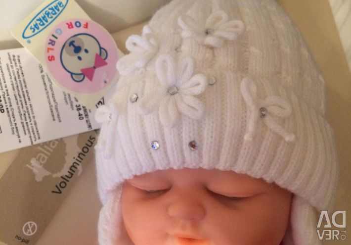 Hat on a new baby