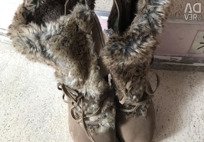 Fur Booties
