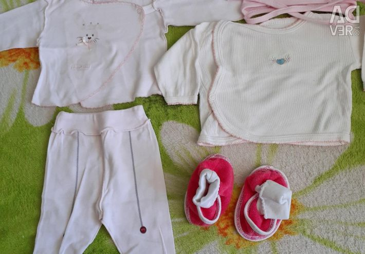 Clothing for girls package (50 pieces)