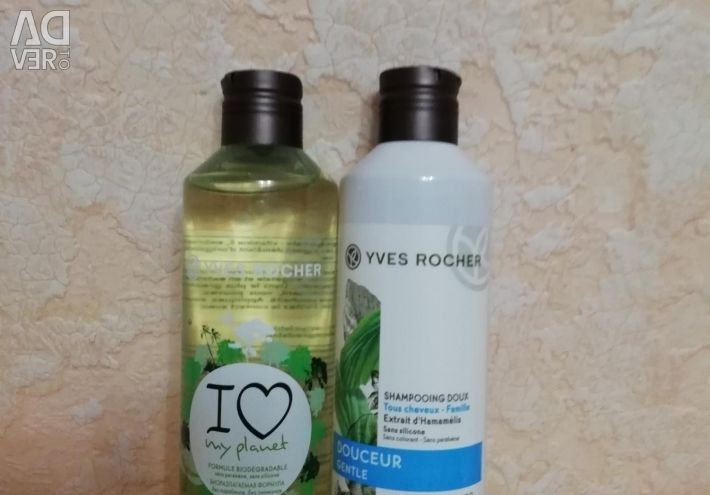 Shampoo and balm from Yves Roche