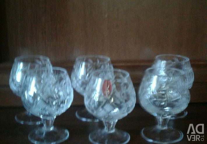 Glasses of crystal Borisov