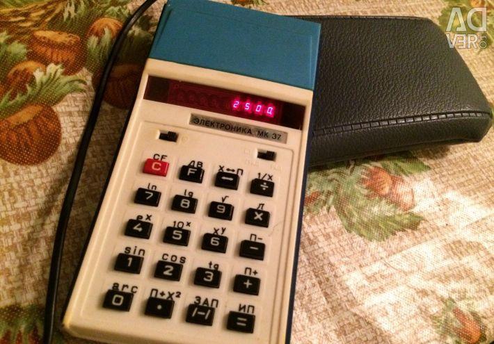 Електронний калькулятор раритет